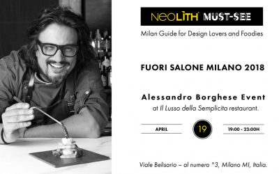 Neolith Must-See / Eventos Fuorisalone 2018